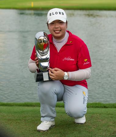 Golf.  Omega Dubai Ladies Masters, Dubai, UAE. 8 Dec 2012