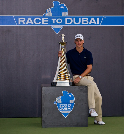 Golf.  Dubai World Championship, Dubai, UAE. 28 Nov 2010