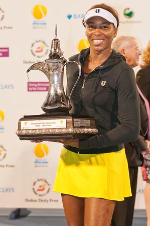 Tennis - Women's Final of The Barclays Dubai Tennis Championships, 20 February 2010
