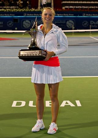 Tennis.  Dubai Tennis Championships, Dubai, UAE. 20 Feb 2011