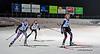 Stella & Gabrielle<br /> 5th & 7th, 2.4 km sprint<br /> U. Laval, December 12, 2014