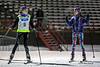 "Old friends, Stella & Liliane<br /> 2.4 km ""Last-To-Go"" elimination sprint<br /> U. Laval, December 12, 2014"