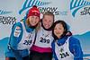 496B7011 Womens 5K skate podium