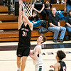 NorthWood Panthers guard Josh Stratford (31) goes up for a layup during the NorthWood 3A Sectional Championship game Saturday evening at NorthWood High School.
