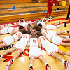 Westview Warriors boys basketball team huddles before Tuesday's game at Westview Junior-Sr. High School in Topeka.