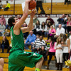 SAM HOUSEHOLDER | THE GOSHEN NEWS<br /> Concord junior Filip Serwatka goes up for a dunk against Jimtown Friday during the game.