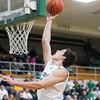 SAM HOUSEHOLDER | THE GOSHEN NEWS<br /> Concord senior Filip Serwatka shoots a basket during the game against Penn Friday.