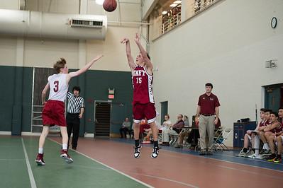 Boys' Fourths Basketball v Gunnery