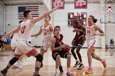 Boys' Varsity Basketball v Suffield