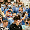 Lakeland  Lakers student section cheers during Saturday's game at Wawasee High School in Syracuse.