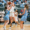 NorthWood forward Bre Wise (30) goes up for a basket during Saturday's game at Wawasee High School in Syracuse.