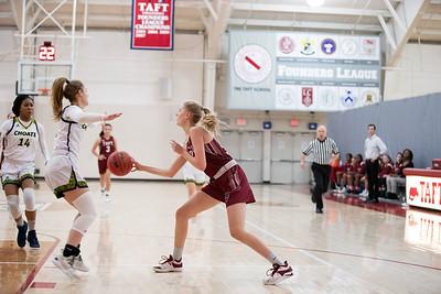 Girls' Varsity Basketball v Choate