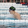 Northridge senior Anna Yeater competes and wins in the 100-yard breaststroke during the girls swimming sectional finals Saturday in Elkhart.