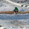 Concord sophomore Sophia Stutsman won the 100-yard butterfly race at the NLC girls swimming championships Saturday at Concord.