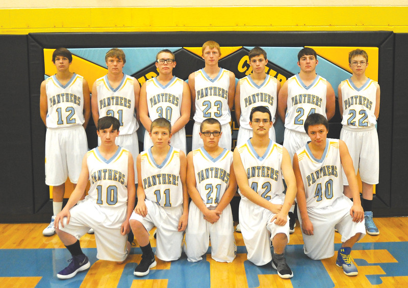 Bud Denega | The Sheridan Press<br /> Top; From left to right: Ben Briscoe, Colin Malli, Mason Beam, Tanner Klatt, Torrey Veach, Clayton Auzqui and Ethan Packard.<br /> Bottom; Left to right: Parker Manor, Cameron Klatt, Harry Fort, John Klier and Shane Miller.