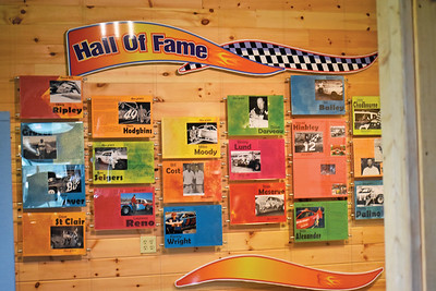 The Wiscasset Speedway Hall of Fame now has 19 members. 2020's six inductees joined 13 from 2019, the hall's first year. (Alexander Violo photo)