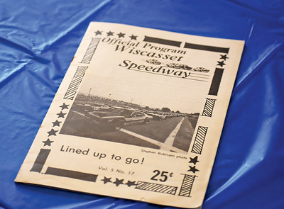 A program from the early years of the Wiscasset Speeday. The track opened in July 1969. (Alexander Violo photo)