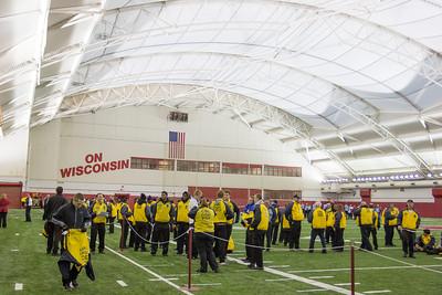 Wisconsin Badgers vs Illinois BEFORE KICKOFF