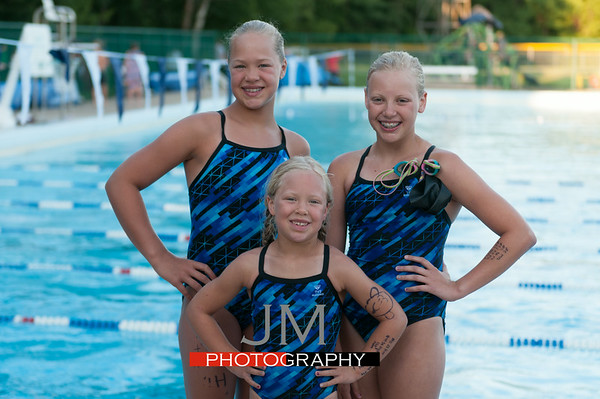 Wisconsin Dells Swim Meet 7-3-14