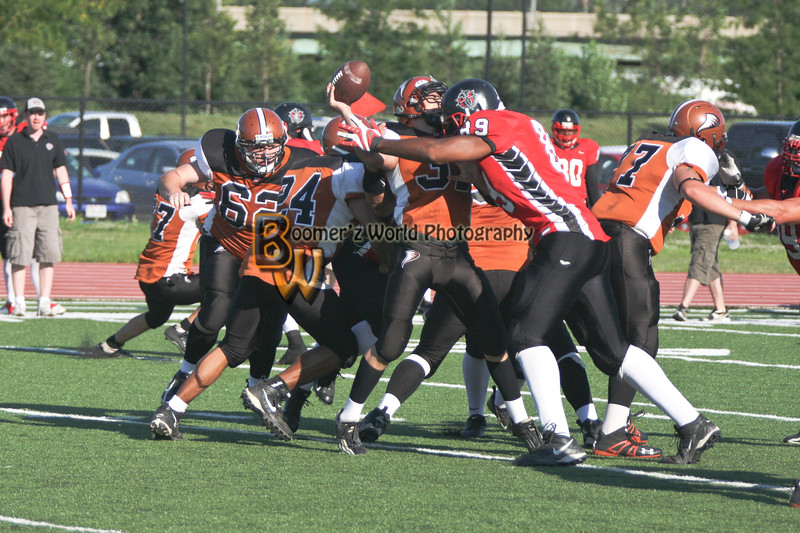 Game 9 Cream City Cyclones 57-0  -98