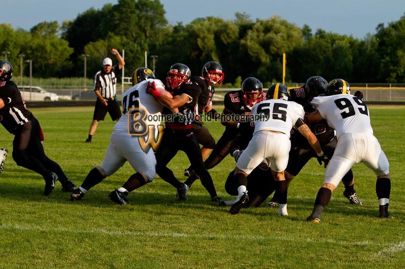 Game 2 Madison Mustangs 13-16  --31