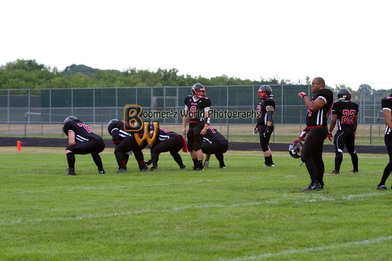 Game 2 Madison Mustangs 13-16  --2