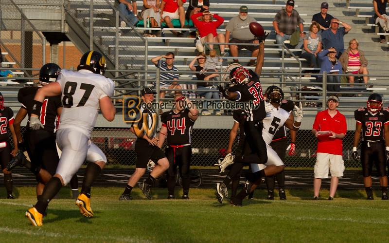 Game 2 Madison Mustangs 13-16  --27