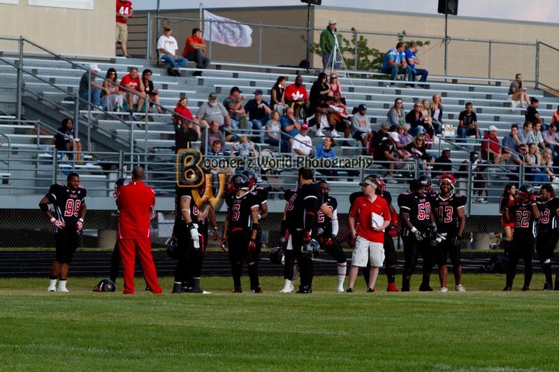 Game 2 Madison Mustangs 13-16  --33