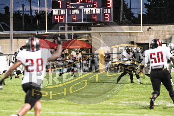 Game 7 Racine Raiders 10-13-121