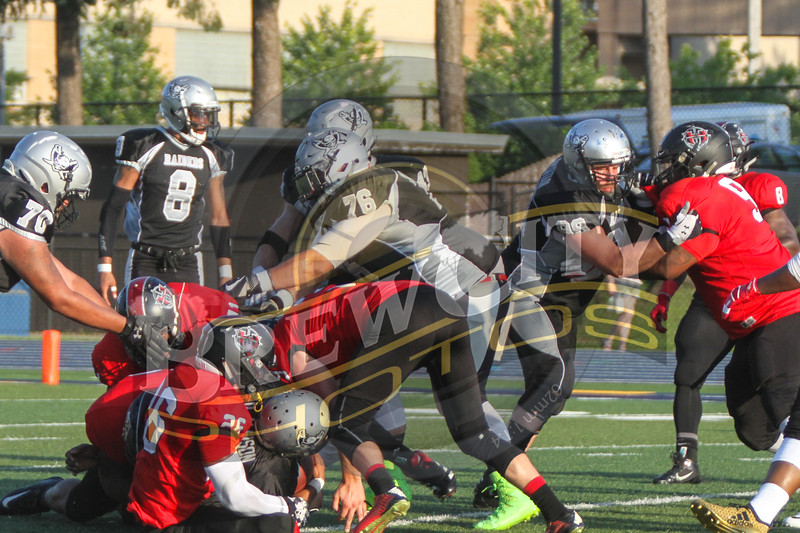 Game 8 Raiders 51-0-35