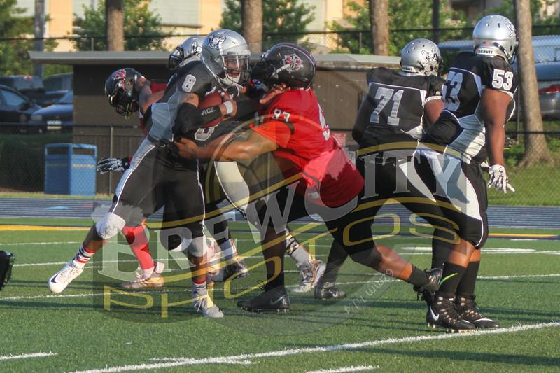 Game 8 Raiders 51-0-47