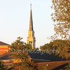 Star Photo/Larry N. Souders<br /> The steeple of Seeger Chapel on the campus of Milligan College basks in glow of sunset on the next to final day of summer.