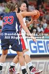 DAVIDSON, NC - Davidson defeats Samford 78-77 (OT) in SoCon women's basketball action held at Belk Arena in Davidson, North Carolina.