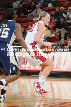 14 January 2011:  Davidson falls to UT-Chattanooga 54-51in SoCon basketball action at Belk Arena in Davidson, North Carolina.