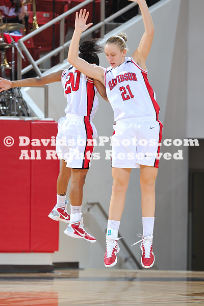 29 December 2010:  Princeton defeats Davidson 67-61 in non-conference basketball action at Belk Arena in Davidson, North Carolina.