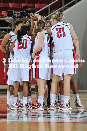 03 January 2011:  Davidson defeats College of Charleston 69-40 in SoCon basketball action at Belk Arena in Davidson, North Carolina.
