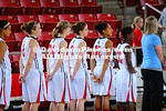 21 November 2011:   Davidson placed five players in double figures in the scoring column and jumped out to a 21-3 lead to cruise to a 67-46 women's basketball victory over Gardner-Webb Monday night at Belk Arena in Davidson, North Carolina.