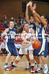 DAVIDSON, NC - UT-Chattanooga defeats Davidson 64-62 in SoCon women's basketball action held at Belk Arena in Davidson, North Carolina.