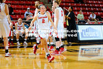 05 December 2012:  Sophia Aleksandravicius recorded her 34th career double-double with 30 points and 15 rebounds to lead Davidson to a convincing 59-42 victory over High Point in non-conference women's basketball action Wednesday evening at  John M. Belk Arena in Davidson, North Carolina.