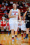 18 January 2013:  Wildcat junior Laura Murray reached 1,000 points for her career, but Chattanooga used a 22-6 run midway through the contest and held off a late Davidson flurry to hand the Wildcats their first Southern Conference loss of the season, 60-56, in women's basketball action Friday evening at Belk Arena in Davidson, North Carolina.