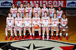 17 September 2012:  Davidson women's basketball team poses for their annual team pictures at Belk Arena in Davidson, North Carolina.