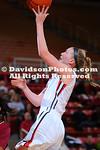 NCAA WOMENS BASKETBALL:  JAN 11 Elon at Davidson