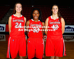 NCAA WOMENS BASKETBALL:  OCT 26 Team and Class Photos