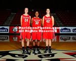 NCAA WOMENS BASKETBALL:  OCT 26 Team and Class Photos
