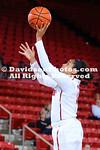NCAA WOMENS BASKETBALL:  DEC 07 James Madison at Davidson
