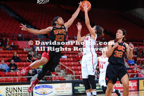 NCAA WOMENS BASKETBALL:  NOV 17 Southern California at Davidson