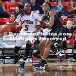 NCAA WOMENS BASKETBALL:  NOV 16 Central Florida at Davidson