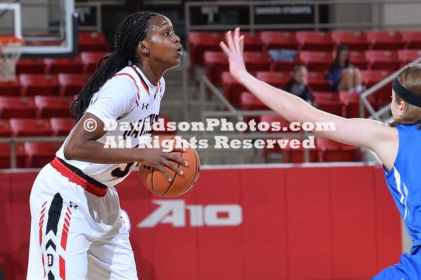 NCAA WOMENS BASKETBALL:  DEC 31 Saint Louis at Davidson