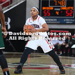 NCAA BASKETBALL:  DEC 21 Charlotte at Davidson