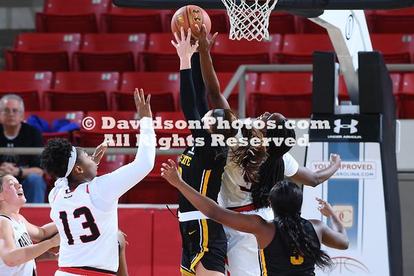 NCAA WOMENS BASKETBALL:  NOV 17 Appalachian State at Davidson